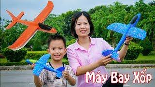 Trò chơi lắp ráp Máy Bay Xốp | Phóng máy bay xốp | ❤ BonBon TV ❤