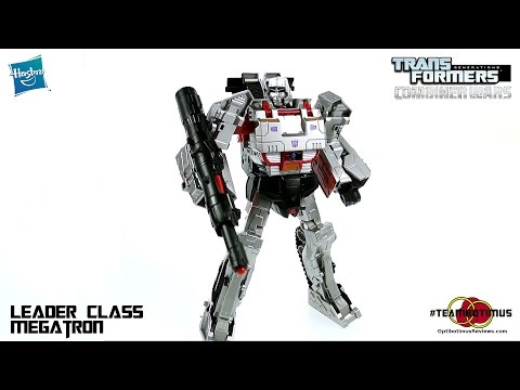 Video Review Of The Transformers Combiner Wars: Leader Class Megatron video