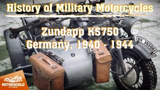"Zündapp KS 750 (Germany) Trial by ""The Motorworld by V.Sheyanov"" (Russia)"