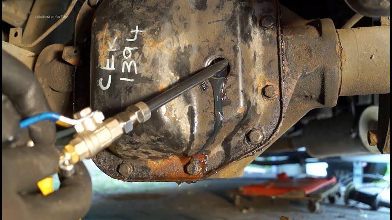 Transmission Oil Filler System Paddock Pm 1238 Land