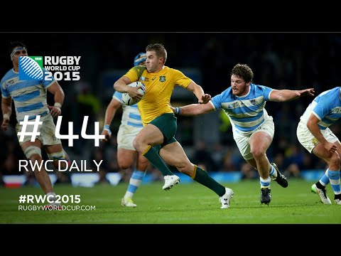 Australia's cracking Play of the Day - RWC Daily