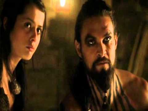 Khal Drogo kills Viserys (aka Viserys commits suicide)
