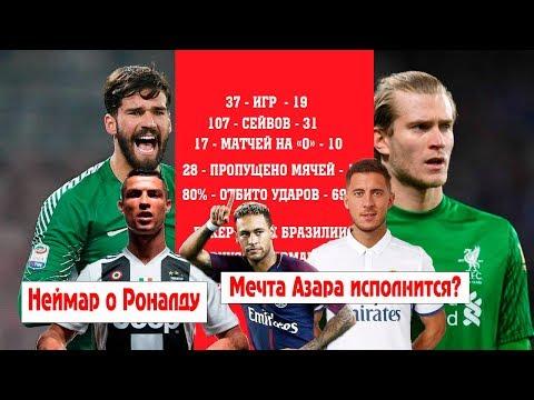 Что должен достичь Криштиану в Ювентусе? Сравним Кариуса и Алиссона в Ливерпуле. Зачем Реалу Азар?