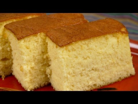 The Best Castella Recipe (Moist and Gooey Kasutera Sponge Cake) | Cooking with Dog