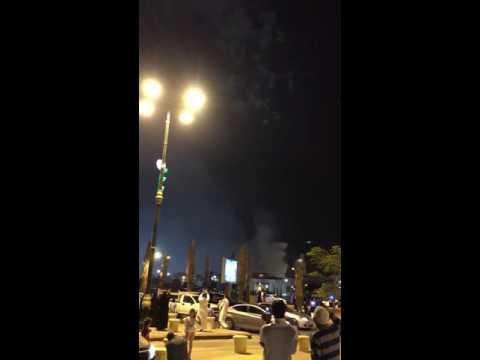 Fire Works at King Abdul Aziz Park Riyadh