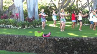 The Hukilau Song - hula lessons!