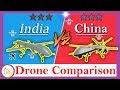 Lagu Drone Comparison - Rustom 2 Vs Cai Hong 5 - {India Vs China}
