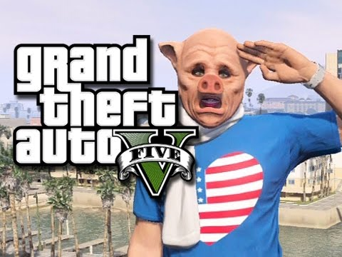 GTA 5 Online Funny Moments! - Giggle Fest 2014! (GTA 5 Flying Glitch)