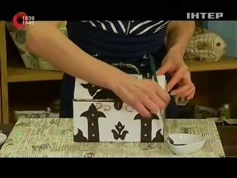 Старинный мини-сундук своими руками! - Удачный проект - Интер