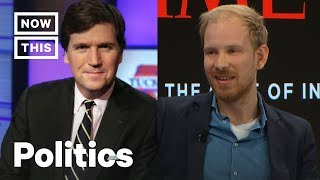 Tucker Carlson Blows Up at Rutger Bregman in Unaired Fox News Interview | NowThis