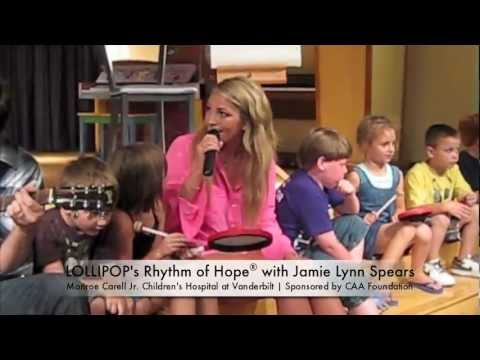 "LOLLIPOP's Rhythm of Hope with Jamie Lynn Spears - ""Super Healing Powers"""