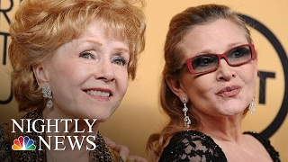 Debbie Reynolds, Hollywood Icon, Dies Day After Daughter Carrie Fisher | NBC Nightly News