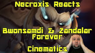 Battle for Azeroth Cinematic - Bwonsamdi & Zandalar Forever! - Necroxis Reacts
