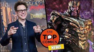 James Gunn regresa a Marvel l Más de Avengers Endgame l Shazam
