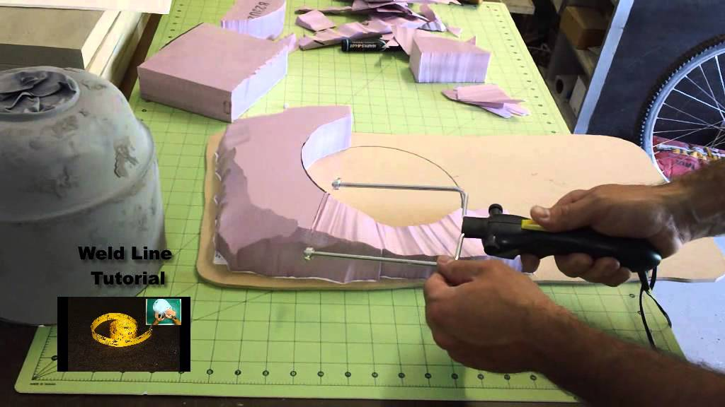 Pink Foam Tutorial For Wargaming Terrain And Scratch Build