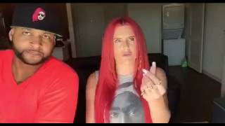 Tonio Skits- A little freestyle fun with Justina Valentine