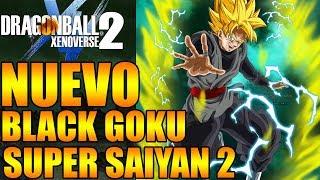 Dragon Ball Xenoverse 2 NUEVO BLACK GOKU SUPER SAIYAN 2 EL MEJOR