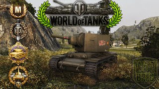 World of Tanks - KV-2 - 12 Kills - 4.9k Damage - 2.2k base xp [Replay|HD]