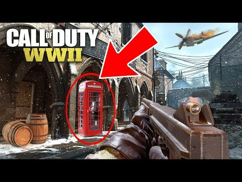 PROP HUNT w/ MY GIRLFRIEND!! (Call of Duty WW2 PROP HUNT)