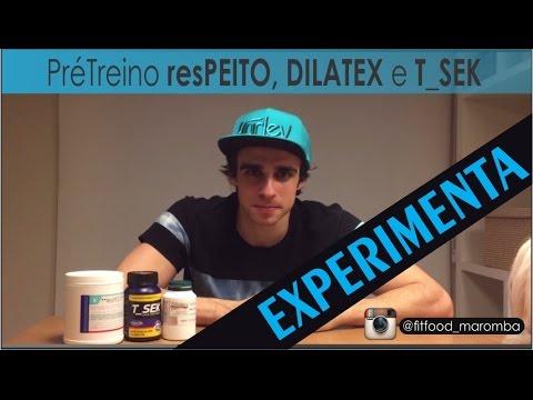 Review Pré Treino resPEITO. DILATEX e T_SEK Power Supplements