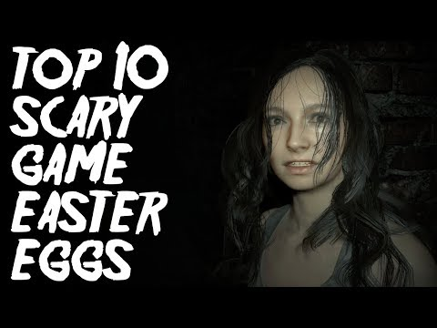 Top 10 Scary Game Easter Eggs & Secrets