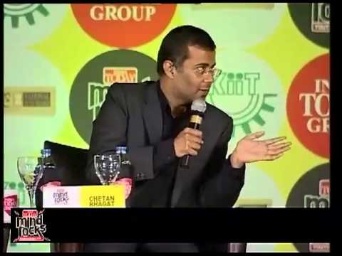 Chetan Bhagat speaks on the 3 Mistakes 3 Successes of his life