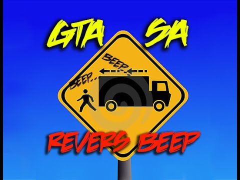 Beep when reverse