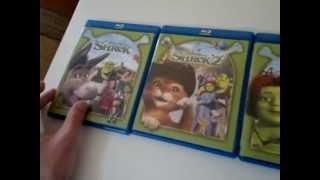 Unboxing Shrek La historia completa Blu-ray