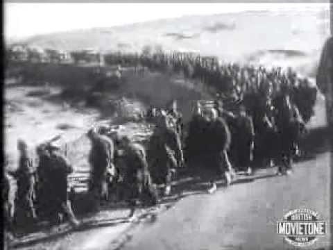 WW2- British Army chase Rommel out of North Africa