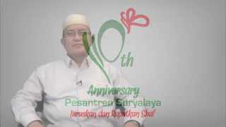 Ucapan Milad Suryalaya 110 - KH. Wahfiudin Sakam