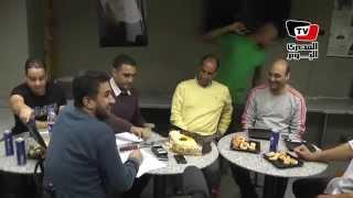 علاء عبد الصادق في ضيافة «المصري اليوم» إحتفالاً بالكونفيدرالية