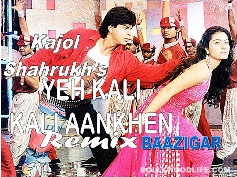 Yeh Kali Kali Aankhen Bounce REMIX Song Of Shahrukh And Kajol...