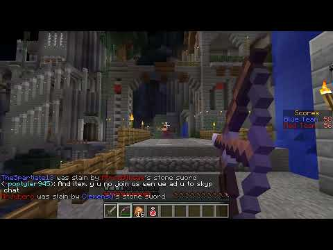 Minecraft PvP: Project Ares w/ Docm77 - Overcast Network
