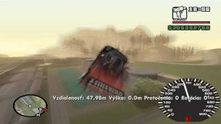 GTA San Andreas - Pagani Zonda R Max speed