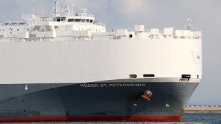 HOEGH ST. PETERSBURG - Hoegh Autoliners car carrier - 2013