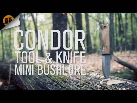 Condor Tool & Knife Mini Bushlore Knife Review