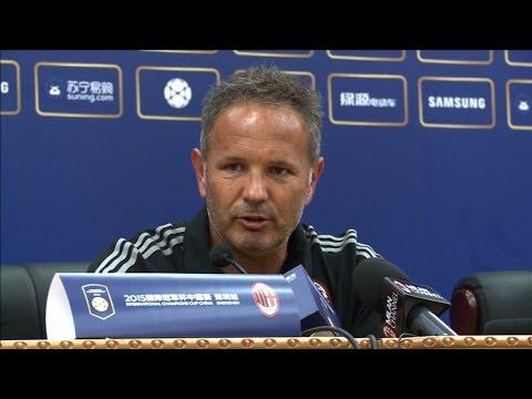 "Mihajlović: ""You don't play in derbies, you win them"" | AC Milan Official"