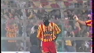 Sikora et la fin du match   Nantes 1995
