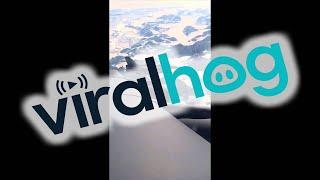 F-16 Escorts Above The Alaska Range
