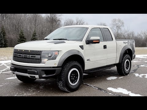 2013 Ford F-150 SVT Raptor - WINDING ROAD POV Test Drive
