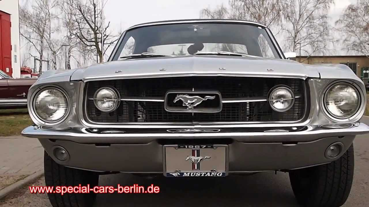 1967 Ford Mustang Coupe V8 289 4 7 L Special Cars Berlin