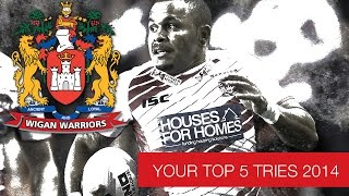 Top 5 Wigan Warriors tries from this season so far....as voted by YOU!