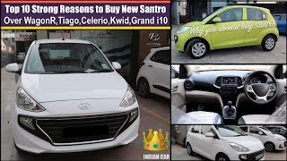Top 10 Reasons to Buy New Santro | Santro vs WagonR vs Tiago vs Celerio vs Kwid