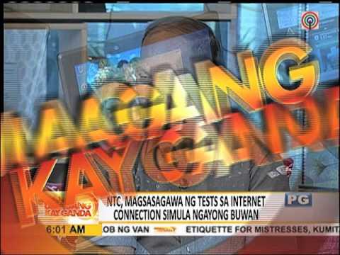 NTC, susuriin ang mga internet connection ngayong Oktubre