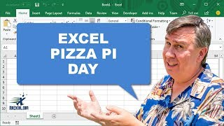 Pizza PI Day! - from Learn Excel with MrExcel_ Podcast #1666