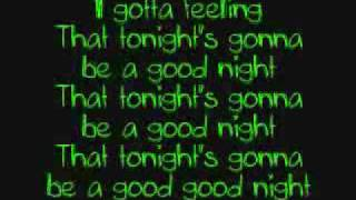 I Got a Feeling - Black Eyed Peas  (Official HQ)
