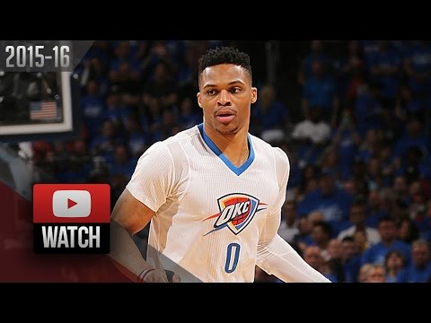 Russell Westbrook Full Highlights vs Mavericks 2016 Playoffs R1G5 - 36 Pts, 12 Reb, 9 Dimes, BEAST!