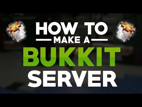 MineCraft: How to make a Bukkit/Spigot Server v1.10 (Mac. Windows 10. 8. 7)