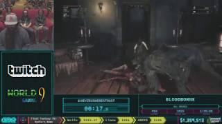 Bloodborne by heyZeusHeresToast in 1:37:49 - AGDQ 2018 - Part 149