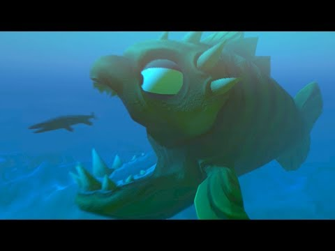 BIGGEST FISH EATS EVERYTHING AND LEAVES THE GAME!!! - Fish Feed Grow